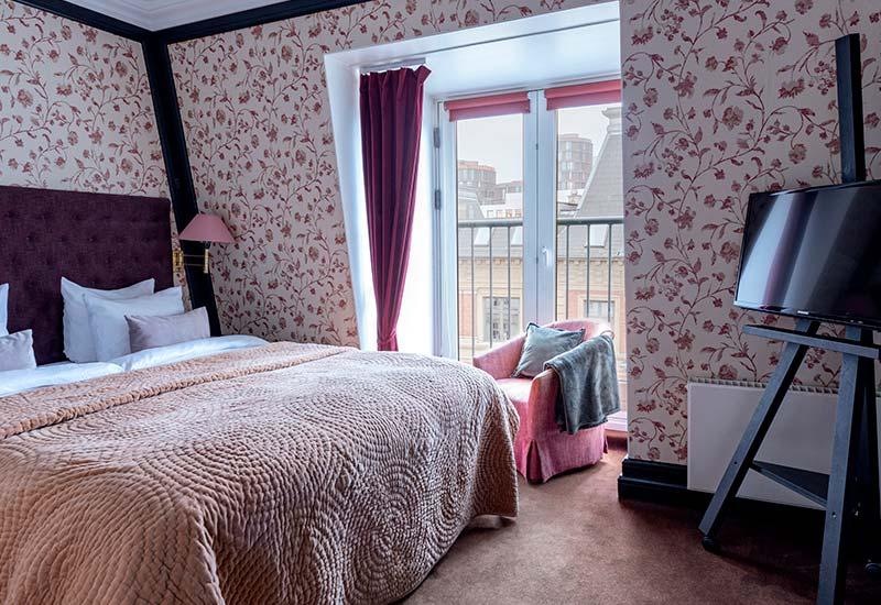 Dronning louise suite med udsigt over København