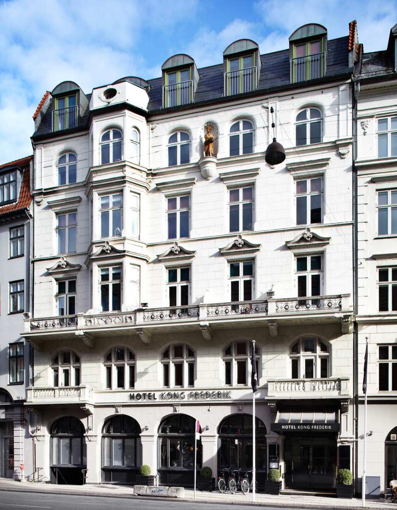 Hotel Kong Frederik i København bygning